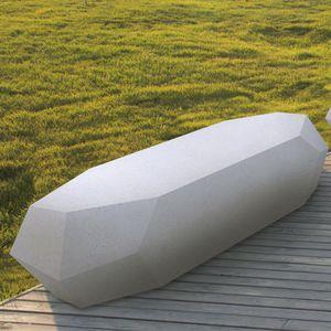 minimalist design public bench