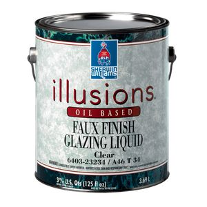 decorative coating / indoor / for walls / oil-based