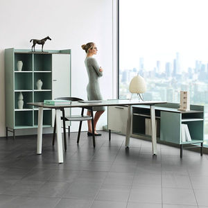 floor storage cabinet / wall-mounted / contract