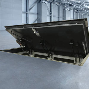 floor hatch / square / rectangular / metal