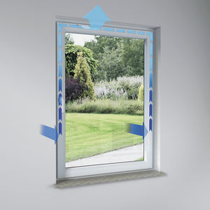 self-regulating window vent