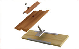 mono-pitched roof mounting system