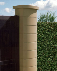 engineered stone engineered stone pillar for fence