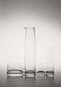 contemporary vase / crystal