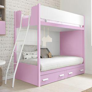 bunk bed / single / contemporary / girl's