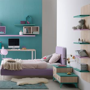 purple children's bedroom furniture set