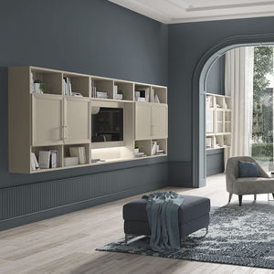 traditional TV wall unit