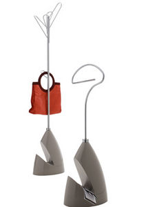 floor coat rack / contemporary / metal