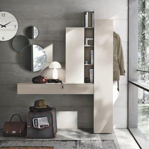 contemporary entryway cabinet