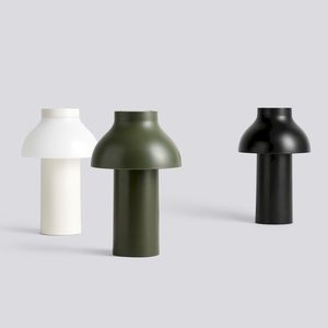 portable lamp / contemporary / plastic / outdoor