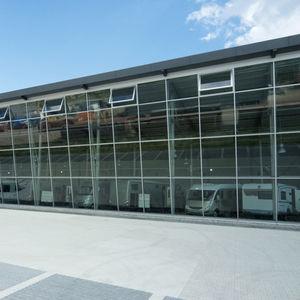 double-glazed glass panel