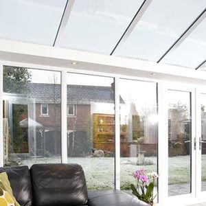 solar control glass panel