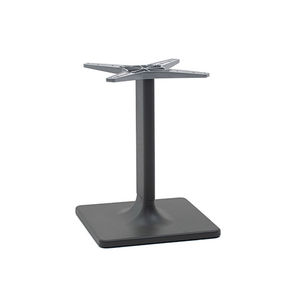 extruded aluminum table base / contemporary / for high bar tables / for coffee tables