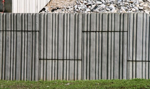 retaining wall form liner
