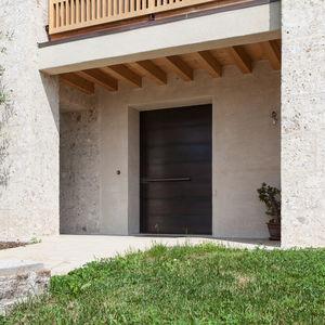 entry door / pivoting / brass / security