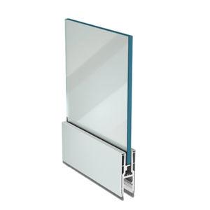 aluminum fastening system / for panels