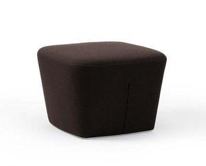 contemporary pouf / fabric