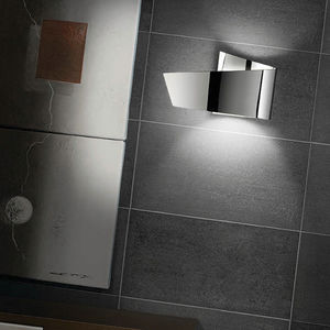 contemporary wall light / aluminum / halogen / compact fluorescent