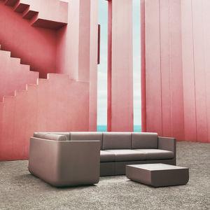 modular sofa / contemporary / garden / fabric