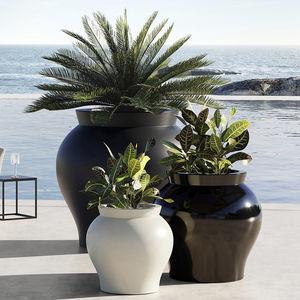 rotomolded polyethylene garden pot