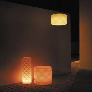 pendant lamp / contemporary / polyethylene / garden