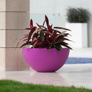 polyethylene garden pot / round