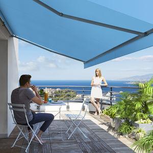 solar protection canvas / plain / striped / acrylic