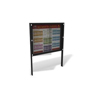 floor-mounted signboard