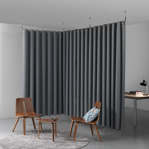 acoustic fabric room divider / hanging / indoor