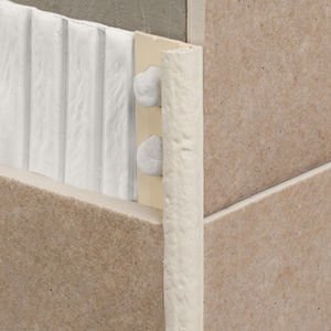 PVC edge trim / for tiles / rounded edge