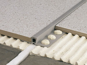 PVC expansion joint / for flooring
