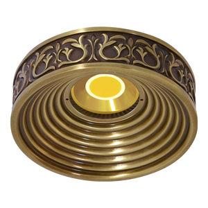 surface mounted downlight / LED / round / metal