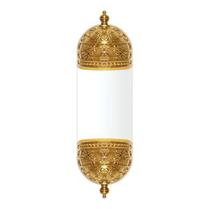 traditional wall light / metal / LED / golden