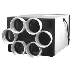 dual-flow ventilation unit / centralized / commercial / for office