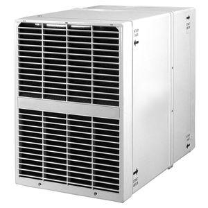 dual-flow ventilation unit / decentralized / commercial / for office