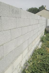 light aggregate concrete block