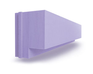 polystyrene formwork block / for decking formwork / insulating