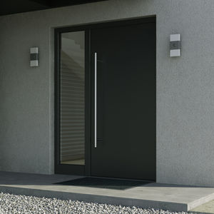 aluminum door profile / thermally-insulated / security / acoustic