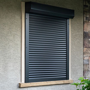 roller shutters / louvre / aluminum / window