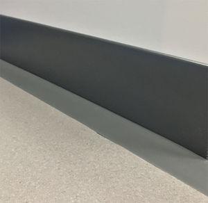 rubber baseboard