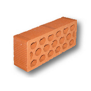 acoustic brick / insulating / hollow / wall-mounted