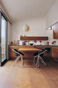 indoor mosaic tile / wall / ceramic / high-gloss