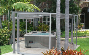 spa enclosure