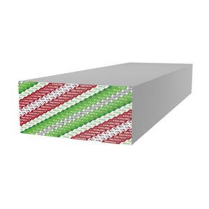 high-resistance plasterboard / impact-resistant / rectangular / fire-retardant
