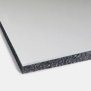 acoustic insulation / rubber / SBR / wall