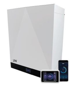 residential heat recovery unit / for homes / compact / programmable