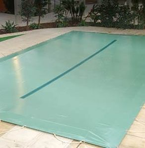 security swimming pool cover