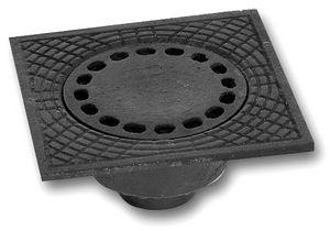 cast iron floor drain / square