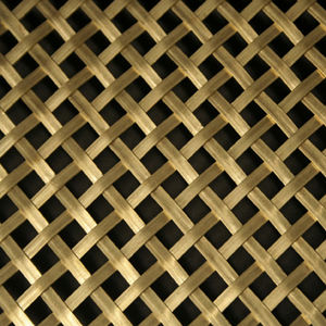 bronze wire mesh / for partition walls / for railing / for facade
