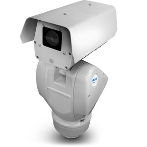 PTZ security camera / IP / box / wall-mounted